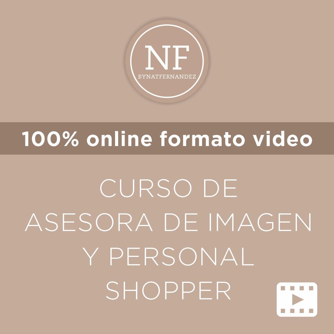 Asesora de Imagen y Personal Shopper (formato Video)