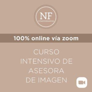 Curso intensivo de Asesora de imagen (zoom)